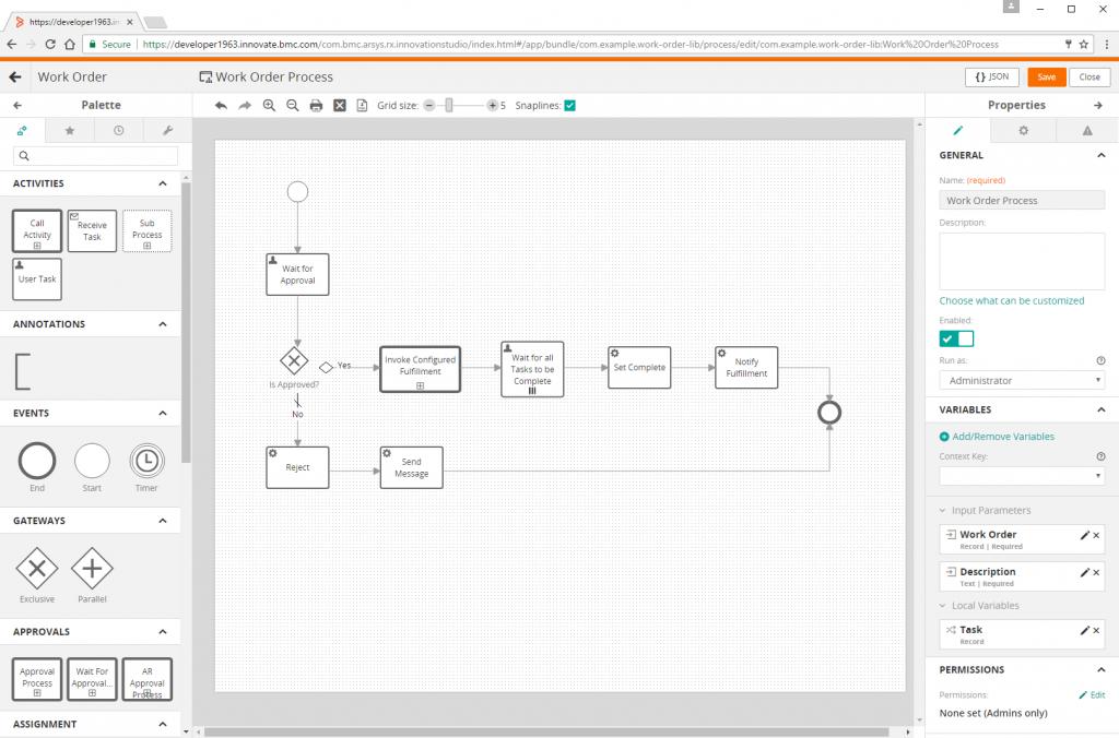 Process Tool BMC Innovation Studio