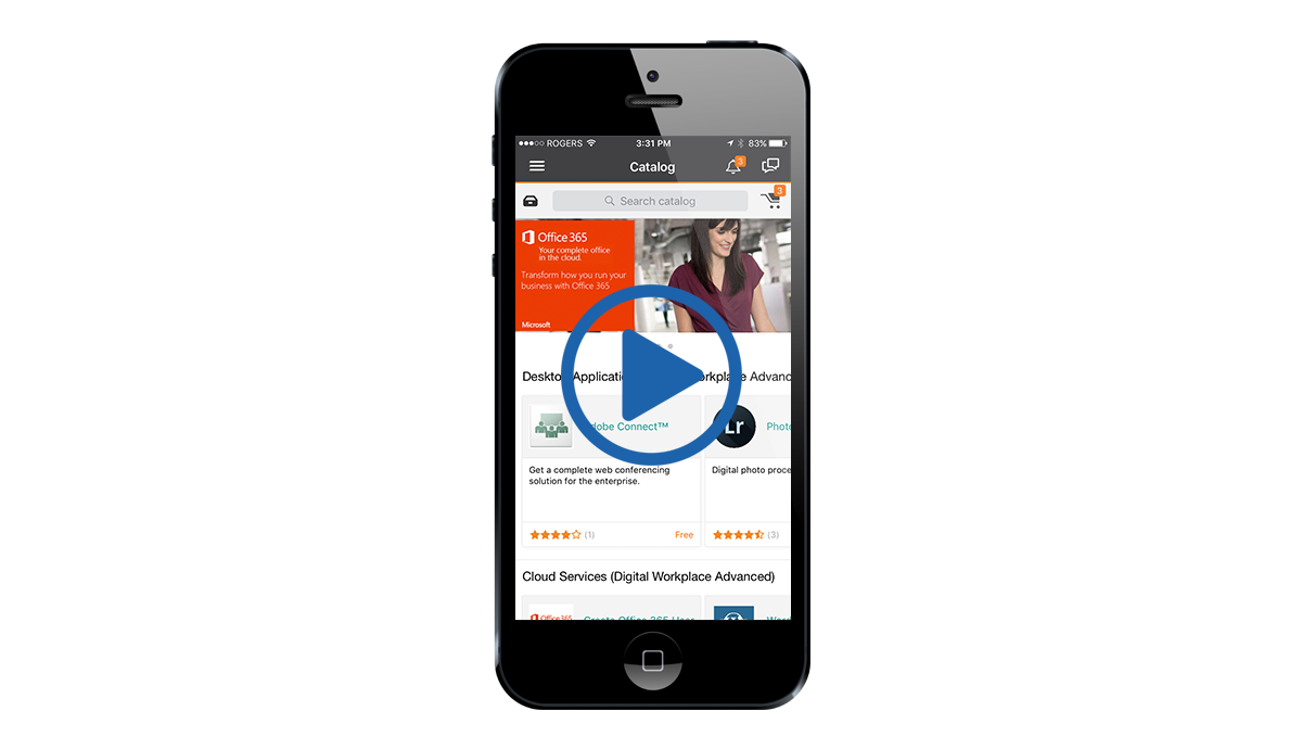 BMC Digital Workplace Mobile
