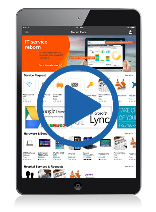 BMC Remedy Tablet ITSM