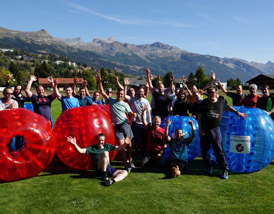 FROX Team-Event in Crans-Montana 2018