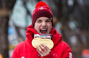Swiss Paralympic Goldmedaillen