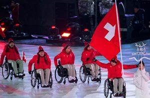 Swiss Paralympic Rollstuhlsportler