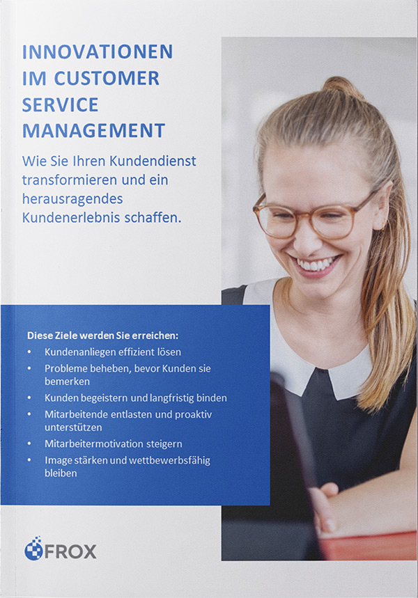 E-Book FROX AG Innovationen im Customer Service Management