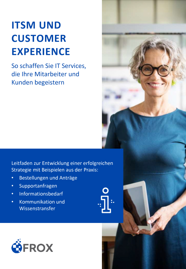 E-Book ITSM und Customer Experience FROX AG