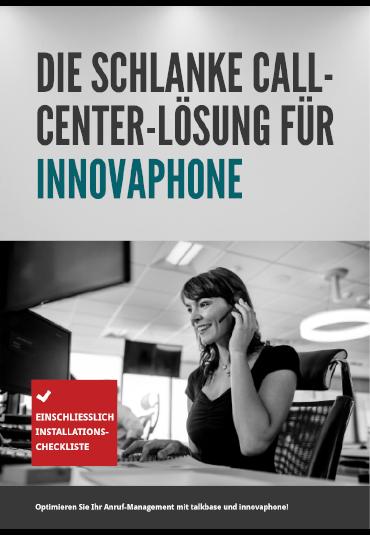 talkbase innovaphone E-Book Die schlanke Call-Center-Lösung für innovaphone