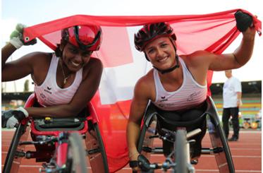 Swiss Paralympic Rollstuhlfahrer