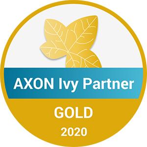 FROX ist Gold-Partner von AXON Ivy