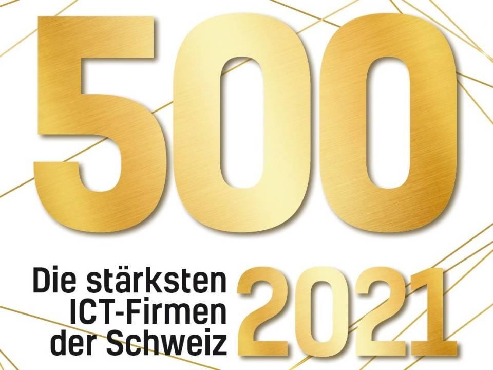 Newsroom Computerworld 500 stärksten ICT-Firmen der Schweiz 2021 Noser Group Platz 98 FROX News